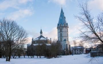 Студенты-архитекторы предлагают решения по оформлению Александровской церкви в Нарве