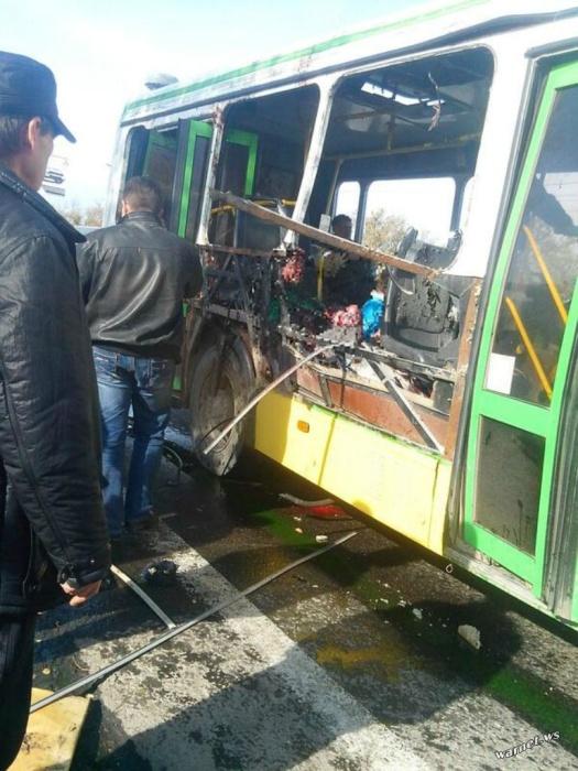 Теракт в пассажирском автобусе в Волгограде  3 видео