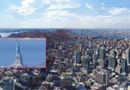 Компания EarthCam опубликовала самое детальное фото Нью-Йорка: расширение – 120 гигапикселей