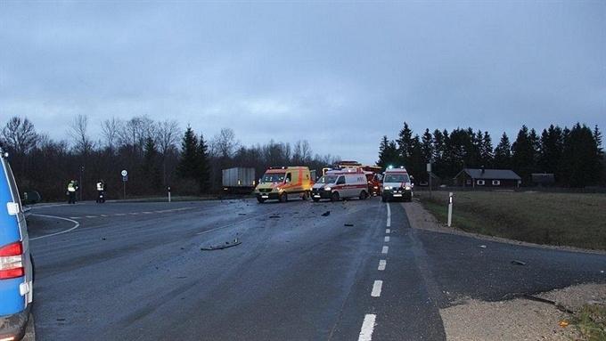 Погибший в аварии под Хаапсалу водитель ранее был известен полиции