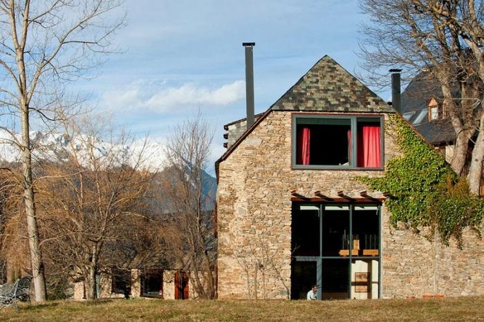 Реконструкция старой фермы на севере Испании