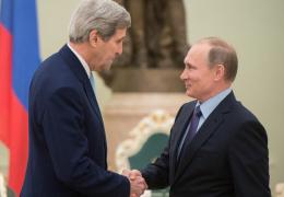 """Путин встретился с главой Госдепартамента США: Москва и Вашингтон теперь вместе """"ищут развязки"""" сирийского кризиса"""