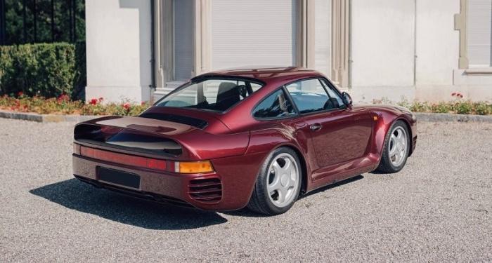 Уникальный Porsche 959 Komfort, заказанный королевской семьей Катара в 1989 году
