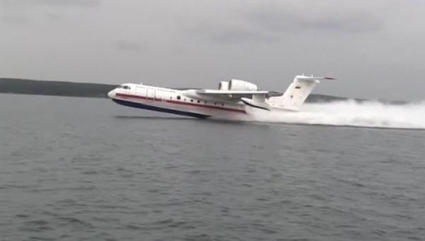 Спасатели получили модернизированный Бе-200