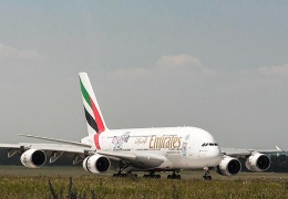 Пассажирский лайнер компании Emirates совершил самый длинный беспосадочный регулярный рейс