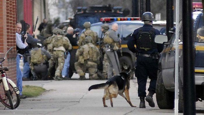 Бойцы спецзагона SWAT Нью-Йорка опозорились в интернете