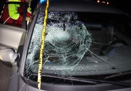 В Тартумаа автомобиль насмерть сбил пешехода