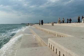 Morske Orgulje - морской орган, играющий музыку моря при помощи волн