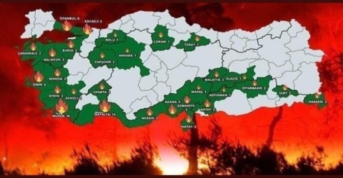 Россия поможет тушить Турцию, пока своя Якутия под боком горит
