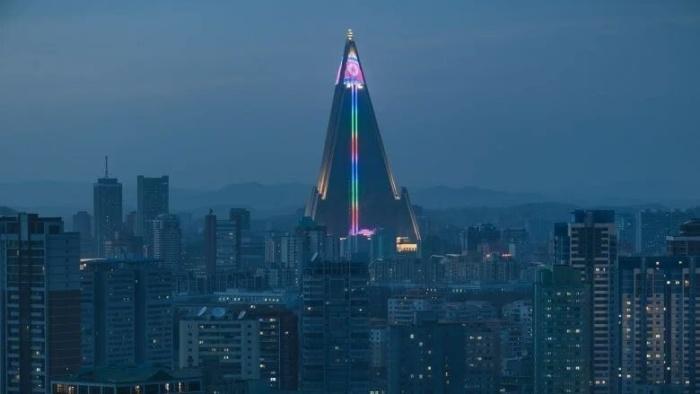 Необычная гостиница Рюген в Северной Корее