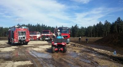 В волости Тойла горит торфяник