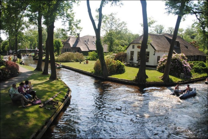 Волшебная деревня, в которой нет дорог
