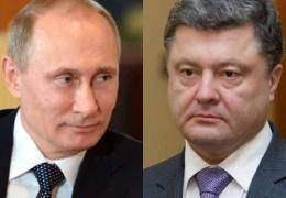 СМИ раскрыли детали полуторачасового разговора Путина и Порошенко