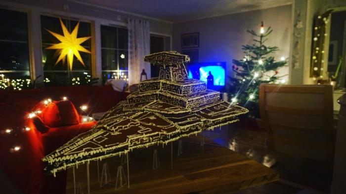 Съедобный звездный разрушитель Имперского флота