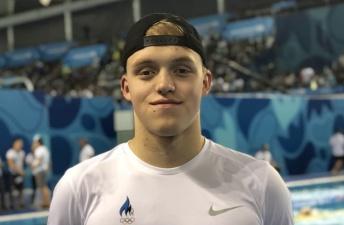 Нарвский пловец Иван Щеглов на чемпионате мира по плаванию установил рекорд Эстонии