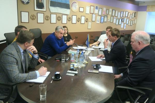 Президент Эстонского Олимпийского комитета посетил Нарву