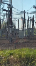 Elering: пожар на подстанции превратился в серьезный инцидент из-за отказа автоматики
