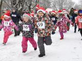Рождественском благотворительном забеге в Нарве собрали 760 евро