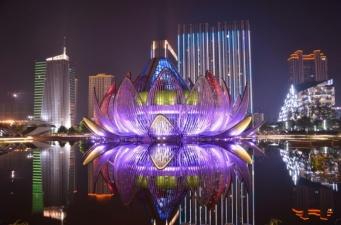 Выставочный центр «Lotus» в Чанчжоу