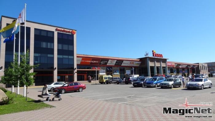 Торговому центру Fama в Нарве угрожали взрывом, люди эвакуированы