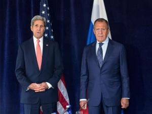 Лавров на переговорах с Керри заявил, что РФ в Сирии бомбила только позиции ИГ