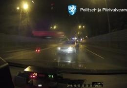 Полиция применила оружие, чтобы остановить мчавшийся со скоростью 200 км/ч автомобиль