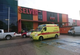 В Йыхви обрушилась крыша строящегося автовокзала, пострадали двое рабочих