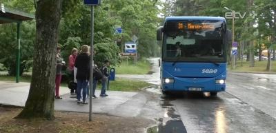 Пассажиропоток на бесплатных уездных автобусах в Ида-Вирумаа вырос на 70%