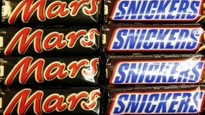 В Эстонии фирма Mars отзывает лишь батончики Snickers