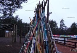 В парке Эккекюла в Нарве открылась Рождественская деревня