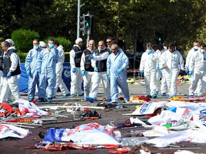 На месте теракта в Анкаре нашли части тела смертника, виден почерк ИГ