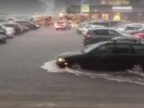 Торговый центр Rocca al Mare залило водой