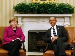 Меркель представила Обаме новый мирный план по Донбассу