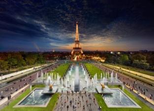 Встреча дня и ночи на удивительных панорамных снимках Стивена Вилкса