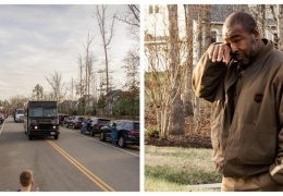 Жители района растрогали доставщика до слёз