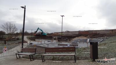 Строительство парка EV100 в Нарве затянулось из-за археологических раскопок