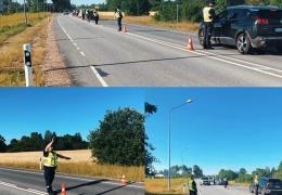 Полицейский рейд в Йыхви: от движения отстранены 13 пьяных водителей