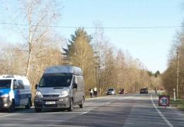 В Ида-Вирумаа из-за пожара нарушено дорожное движение
