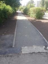 После ремонта тротуары в Ногинске стали в два раза уже