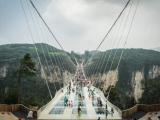 Самый длинный и высокий стеклянный мост
