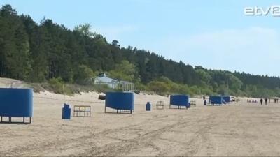 На пляже Нарва-Йыэсуу летом вновь будут работать спасатели