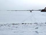 В Пярнуском заливе под лед провалился микроавтобус с четырьмя пассажирами