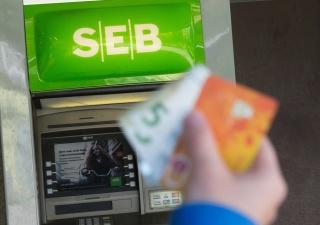 В случае ограбления банкоматов SEB купюры будут измазаны краской