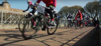 На Липовке открывали сезон велосипедисты