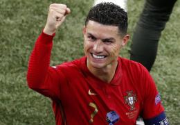 Криштиану Роналду – лучший бомбардир Евро-2020