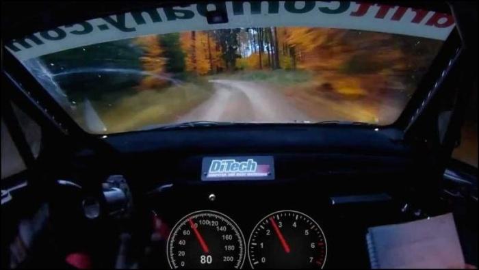 Через лес со скоростью 206 км/ч