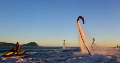Кусочек лета или крутой Flyboard - Water Jet