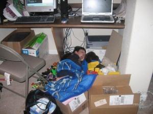 Угадаете где обычно спит ребенок, воспитанный в семье программистов?