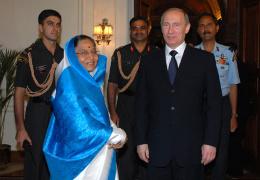 Путин рассказал о совместной разработке Россией и Индией новых систем вооружений