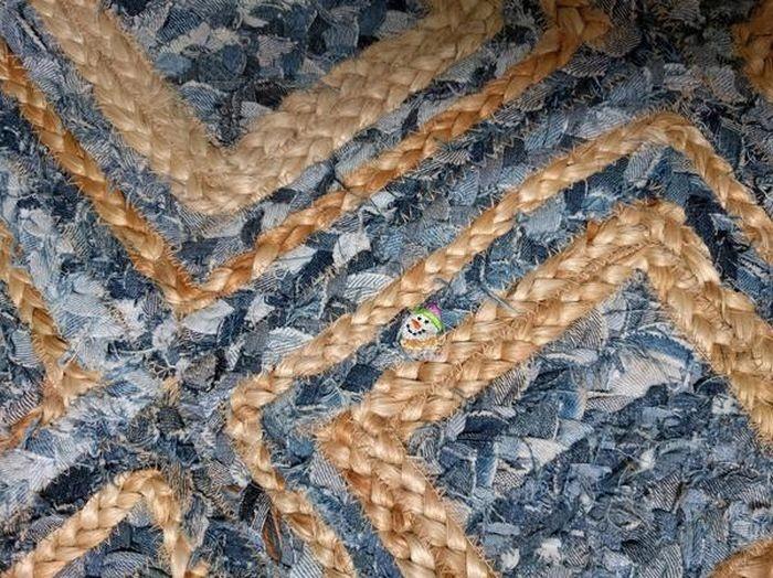 Необычная находка на ковре